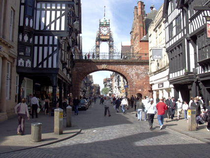 Chester to Liverpool